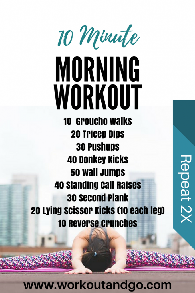 10 Minute Morning Workout with Tips