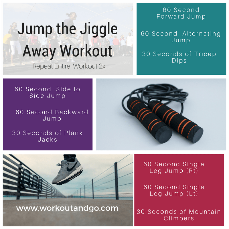 Jump Your Fat Away Jump Rope Workout Jumping Rope to Burn Fat