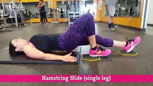 Hamstring Slide Leg Workout