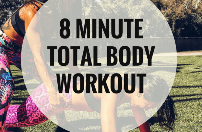 8 Minute Total Body Workout